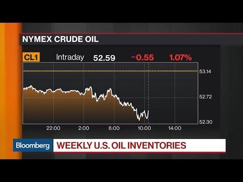 U.S. Crude Inventories Rise 8.21 Million Barrels: EIA