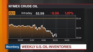 U.S. Crude Inventories Rise 8.21 Million Barrels: EIA