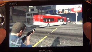 GTA V on PS Vita