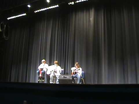 Midlothian Middle School Talent Show-  Men of Leisure playing
