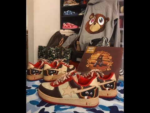 0b997353cee MAIL TIME EPISODE 2  GRAIL MAIL ( KANYE WEST x BATHING APE COLLEGE DROPOUT  BAPESTAS