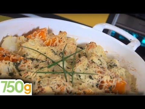 recette-de-gratin-de-chou-fleur-et-butternut---750g