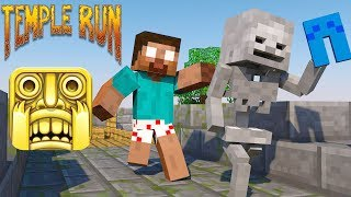 - Monster School Temple Run Granny Challenge Minecraft Animation