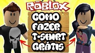 ROBLOX-como fazer t-shirt