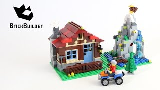 Lego Creator 31025 Mountain Hut - Lego Speed Build