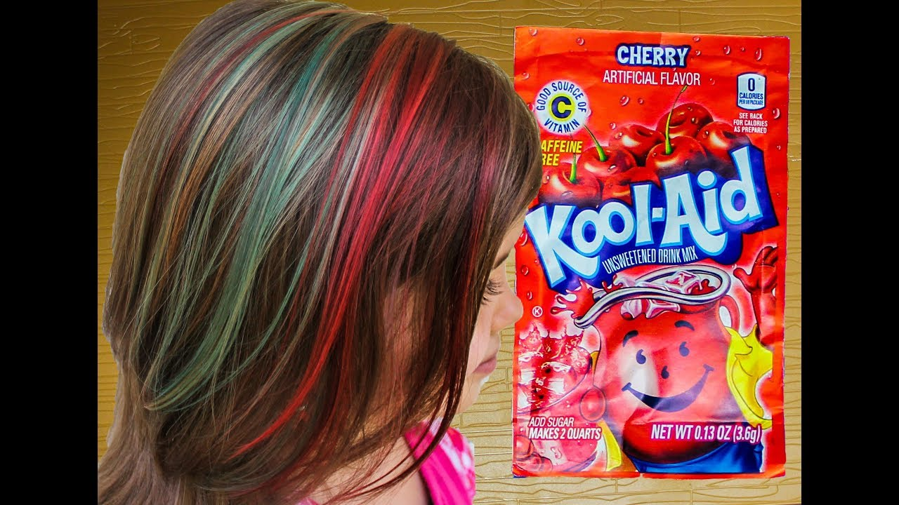 Rainbow Kool Aid Dyed Hair For Kids Like Rainbow Dash Diy How To Dye