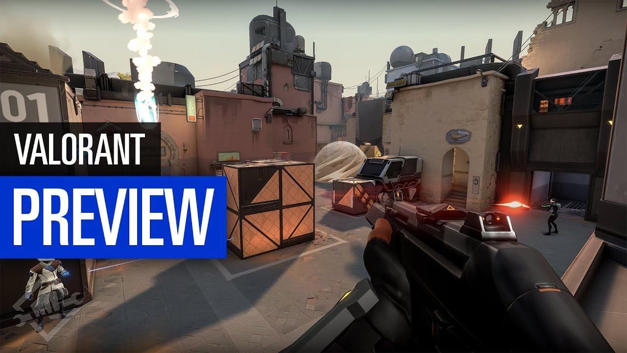 Valorant Preview Riots Neuer Taktik Shooter Youtube