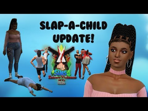 The Sims 4: Slap A Child Update! Extreme Violence 1.6 Mod Update Review streaming vf