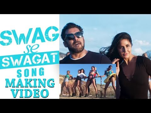 Swag Se Swagat Song Making Video | Tiger...