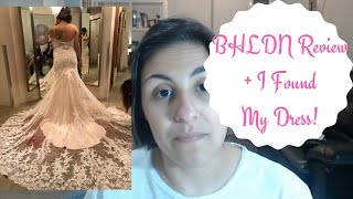 My BHLDN Experience + I Said Yes To the Dress! - Wedding Wednesdays