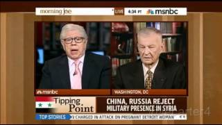 Brzezinski vs. Bernstein on Syria and Russia