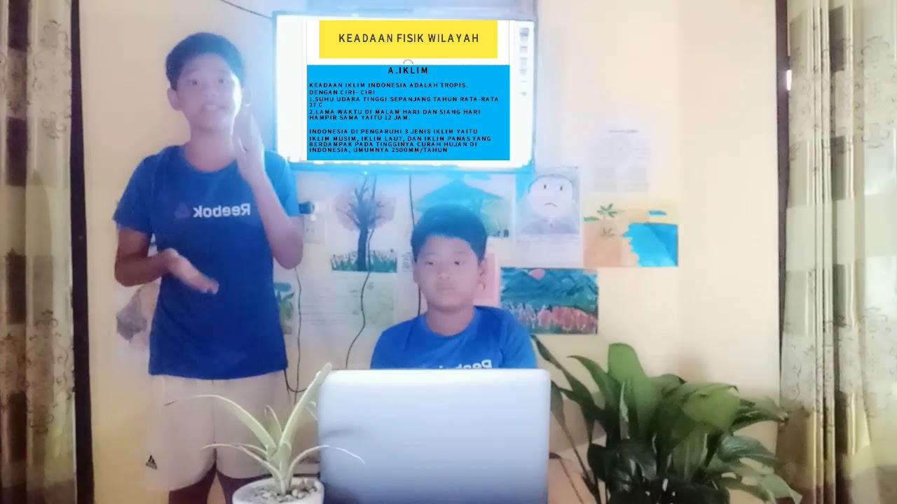 Presentasi anak SD keadaan alam flora dan fauna Indonesia ...