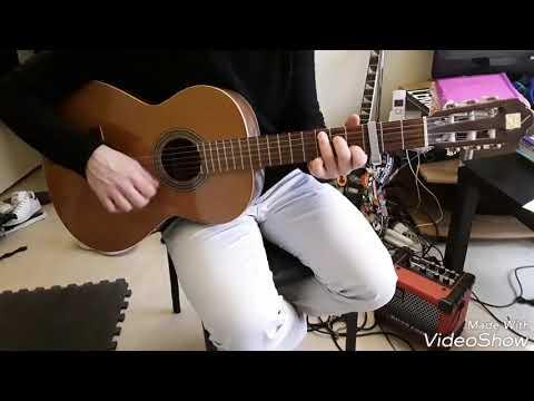 maitre gims Vianney - la même - comment jouer tuto guitare en francais youtube