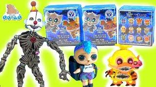 ФНАФ 6 Мультик Куклы Лол Сюрпризы FNAF для Lol Видео для детей от My Toys Potap
