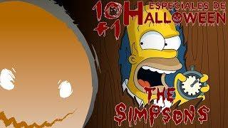 [C.H.A.O.S.] Los Mejores Especiales de Halloween de los Simpsons | Top 10+1