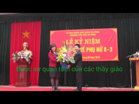 Trường Tiểu học Ba Đình - Kỷ Niệm ngày 8/3