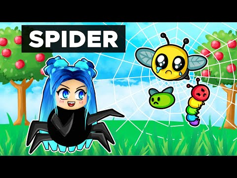 Playing as a SPIDER in Roblox!