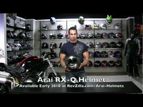 Thumbnail for Arai RX-Q Helmet Review