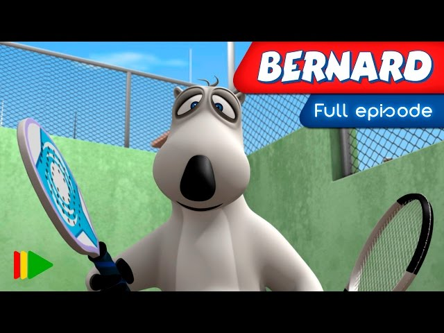Bernard Bear - 123 - Paddle Tennis