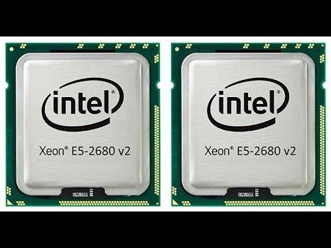 20 Core Dual Xeon Processor Upgrade!