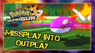 Pokemon Ultra Sun and Moon VGC 2019 Sun Series Battle - Missplay into Outplay