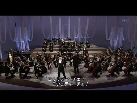 Dmitri Hvorostovsky - Che faro senza Euridice? (Japan 2005) HD