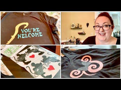 Disney DIY Vacation Shirts! Disney World, Disneyland, Disney Cruise Line Shirts!