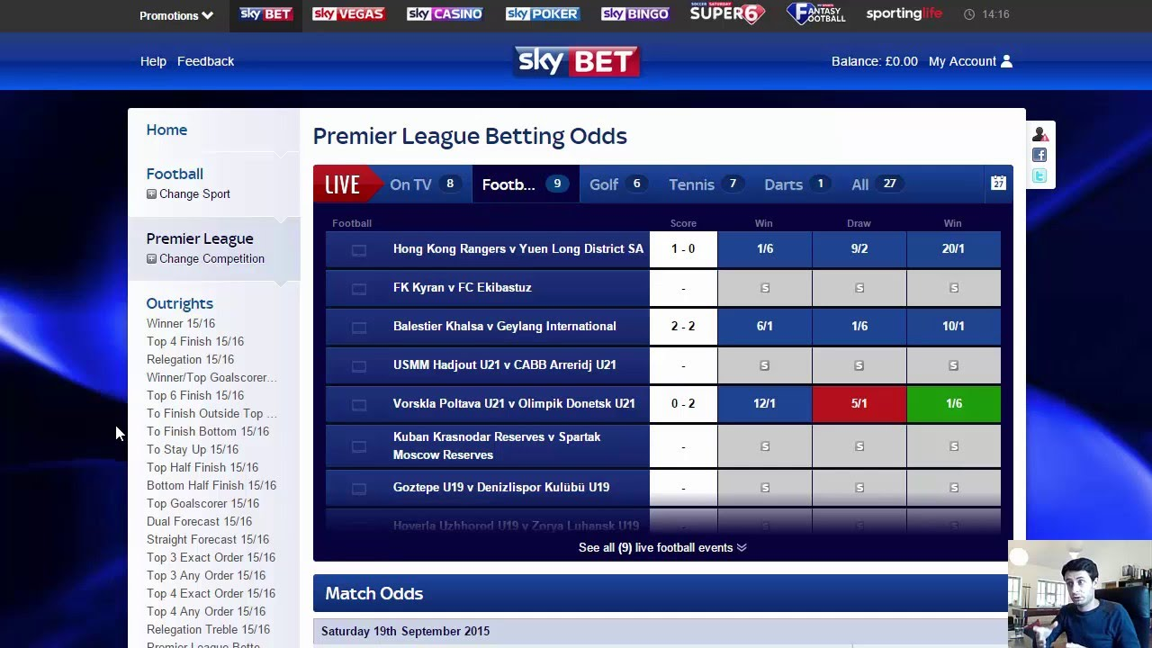How Can I Place A Bet Online