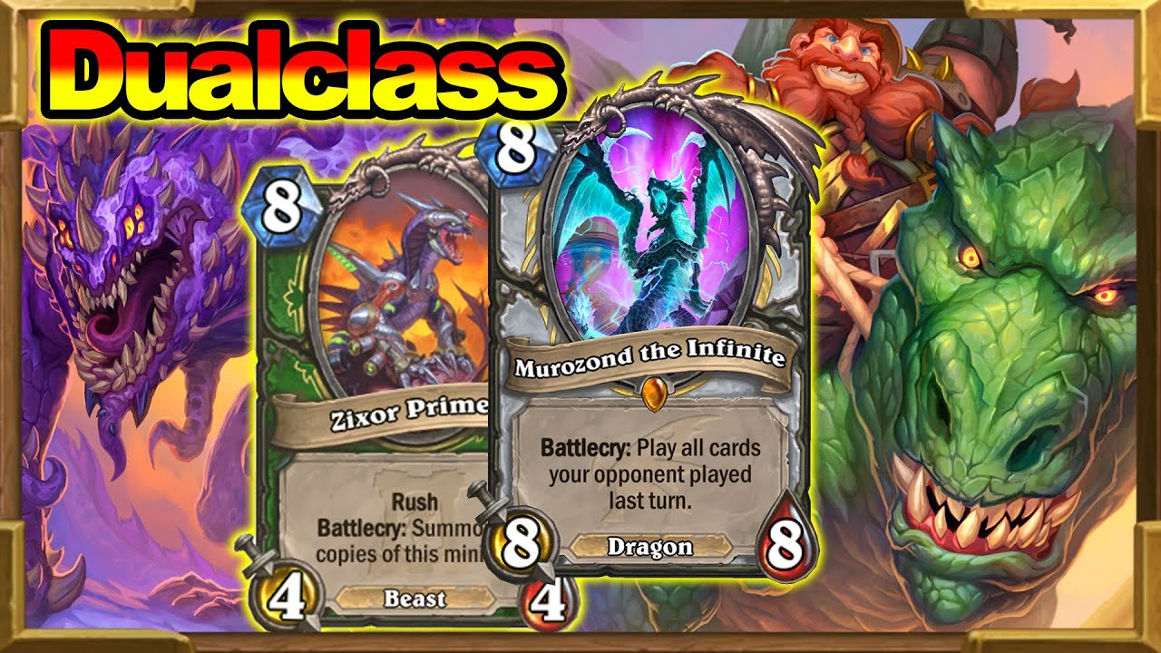 Dual Class Hunter & Priest? The Most Crazy Game Ever Before The Scolomance Academy | Hearthstone