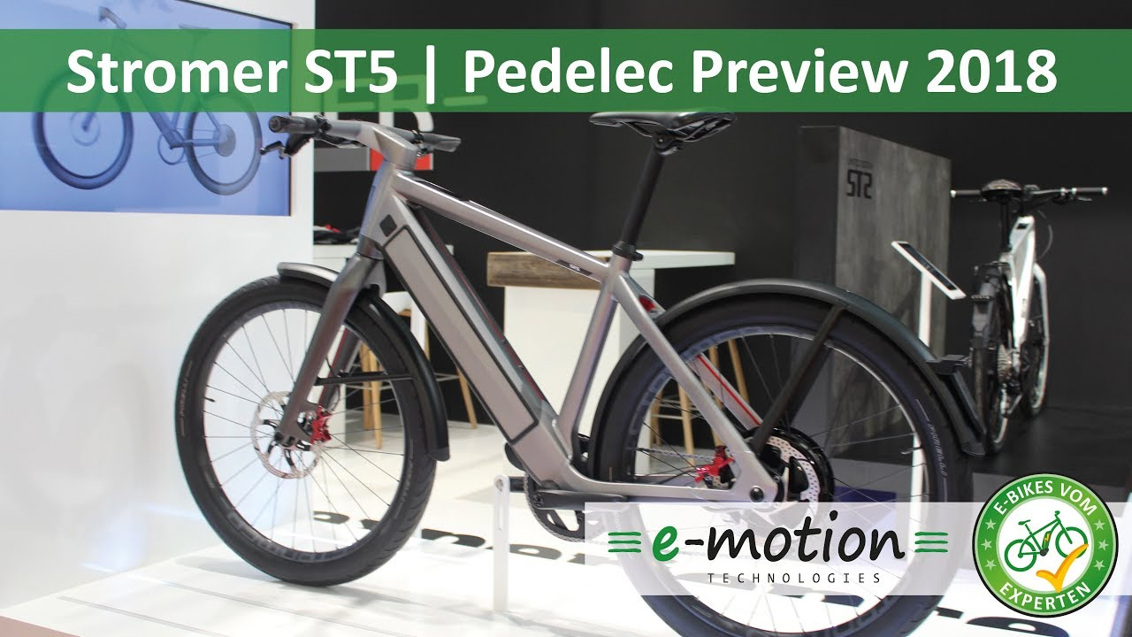 stromer st5 e bike neuheiten 2018 pedelec preview. Black Bedroom Furniture Sets. Home Design Ideas