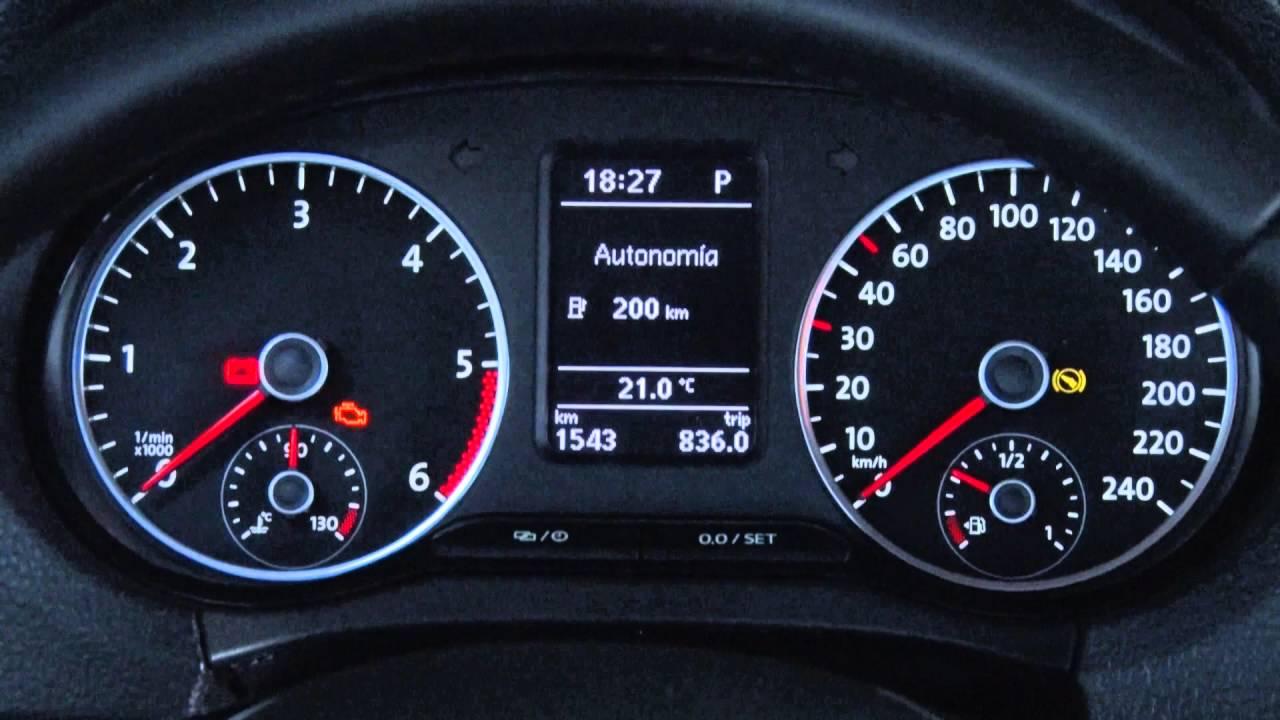 Conozca su VW Comercial: Tablero multifunción - YouTube