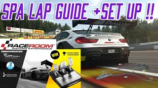 Spa lap guide GT3| Thrustmaster T LCM Pedals competition