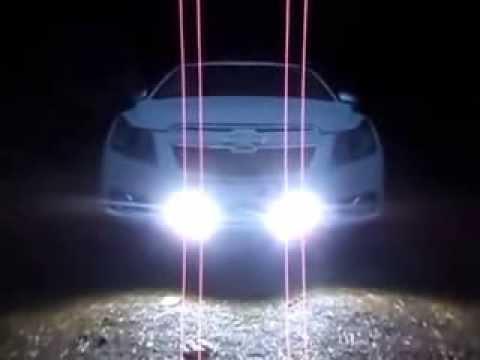 ДХО стробоскопы на Chevrolet Cruze