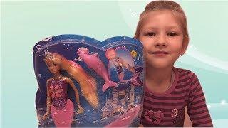 Кукла русалка со светящимся хвостом