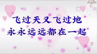 🎵❤崔伟立/孙艺琪【命中注定我爱你】甜蜜情歌对唱【歌词版lyrics】❤