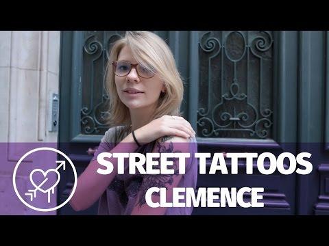 Street Tattoo — Clémence et ses tatouages fleuris
