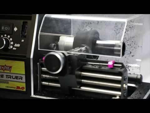 Team 3 Racing Tyre Tire Truer V 3.0 similar to the Hudy Tire Truer