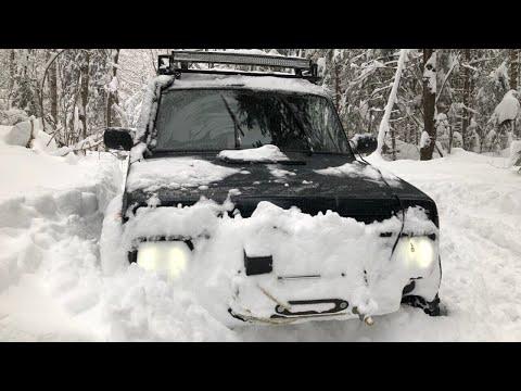 Очень много снега!