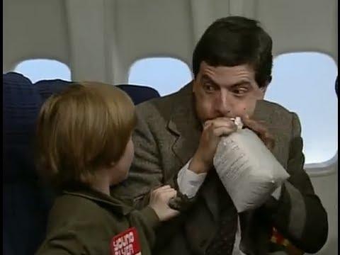على الطائرة مع مستر بي