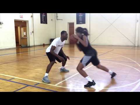High School Phenom Brittany Davis workout with A1Skills