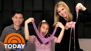 Making SLIME With EvanTubeHD And JillianTubeHD! | TODAY