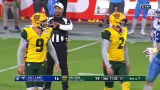 Salt Lake Stallions vs  Arizona Hotshots   AAF Week 1 Game Highlights