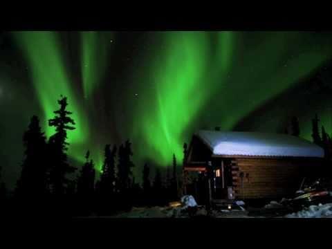 White Mountains, Alaska - Northern Lights, Cabins