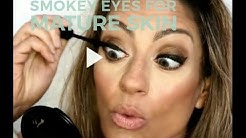 Smokey eyes/ chit chat for Mature Skin (requested:) all drugstore  OVER 40!!