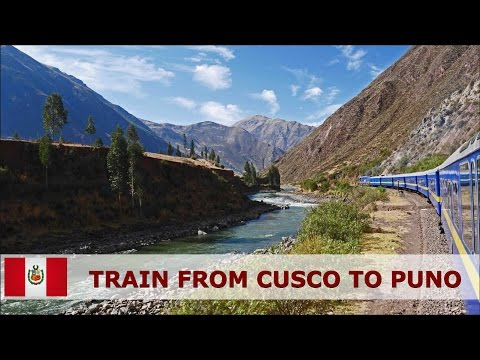 Peru - Andean Explorer train from Cusco to Puno