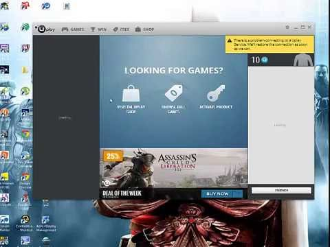 ubisoft game launcher (uplay) 100% FREE download - YouTube