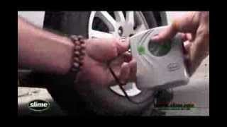 How To Inflate a Car Tire With Low Tire Pressure - Tire Top Off
