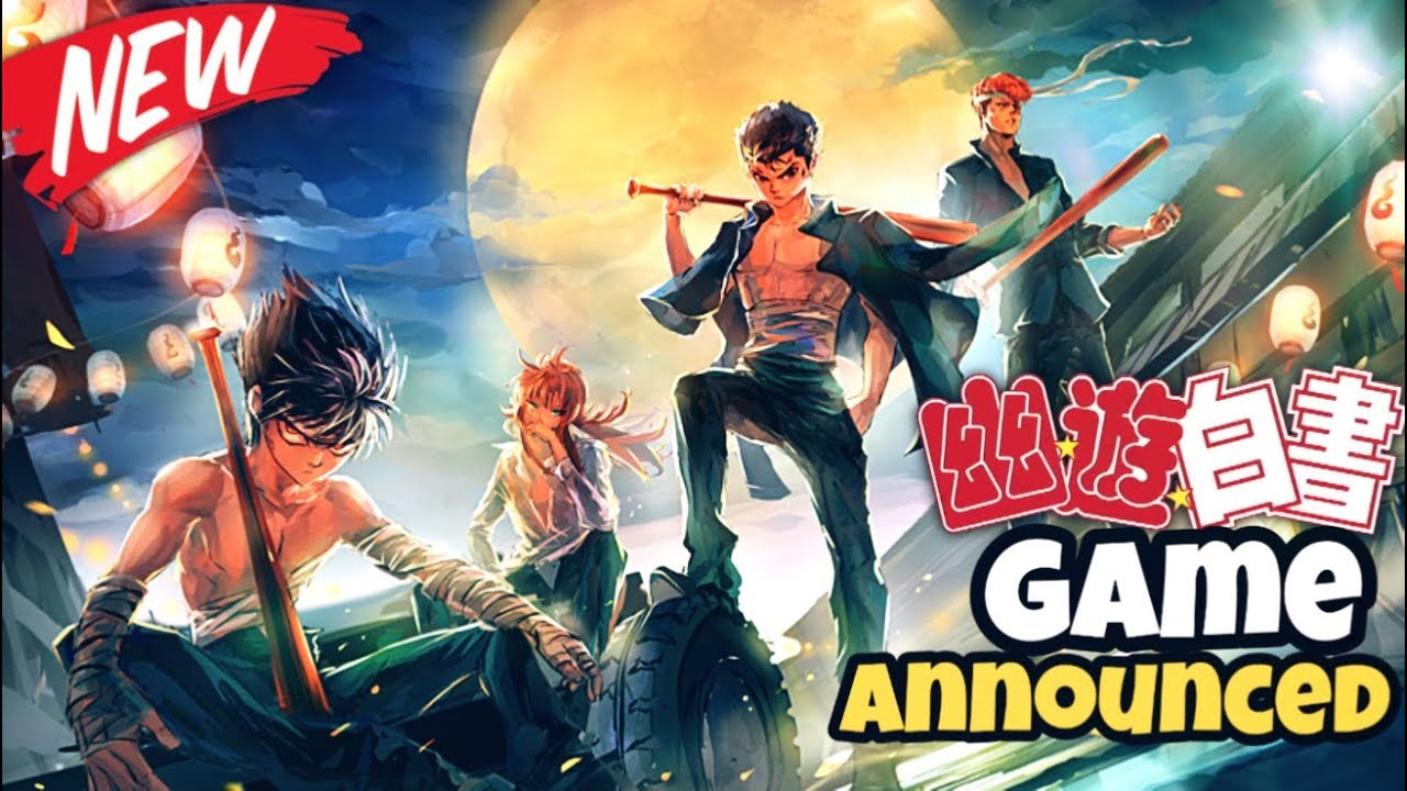 New Yu Yu Hakusho Game Coming 2020 Youtube