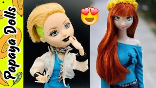 Dolls Hairstyles �� Amazing Hair Transformation for Ever After High Doll�� Creative Fun for Kids