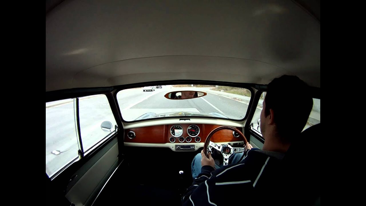 1967 B16a Classic Mini Vtec Baby Getting Onto The Interstate In 3rd Youtube
